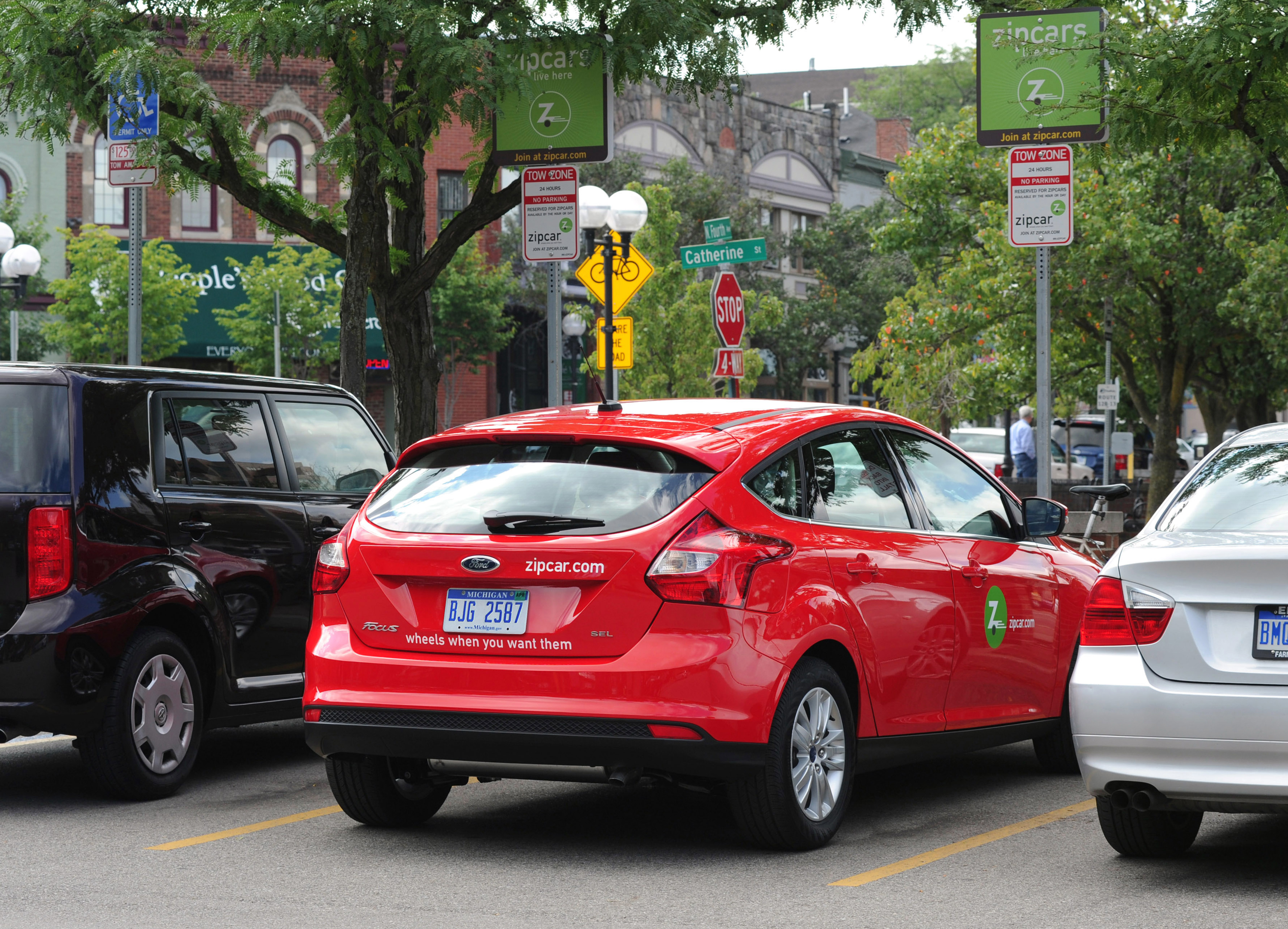 Ford Zipcar Bring Future Of Transportation To Newest Generation Of