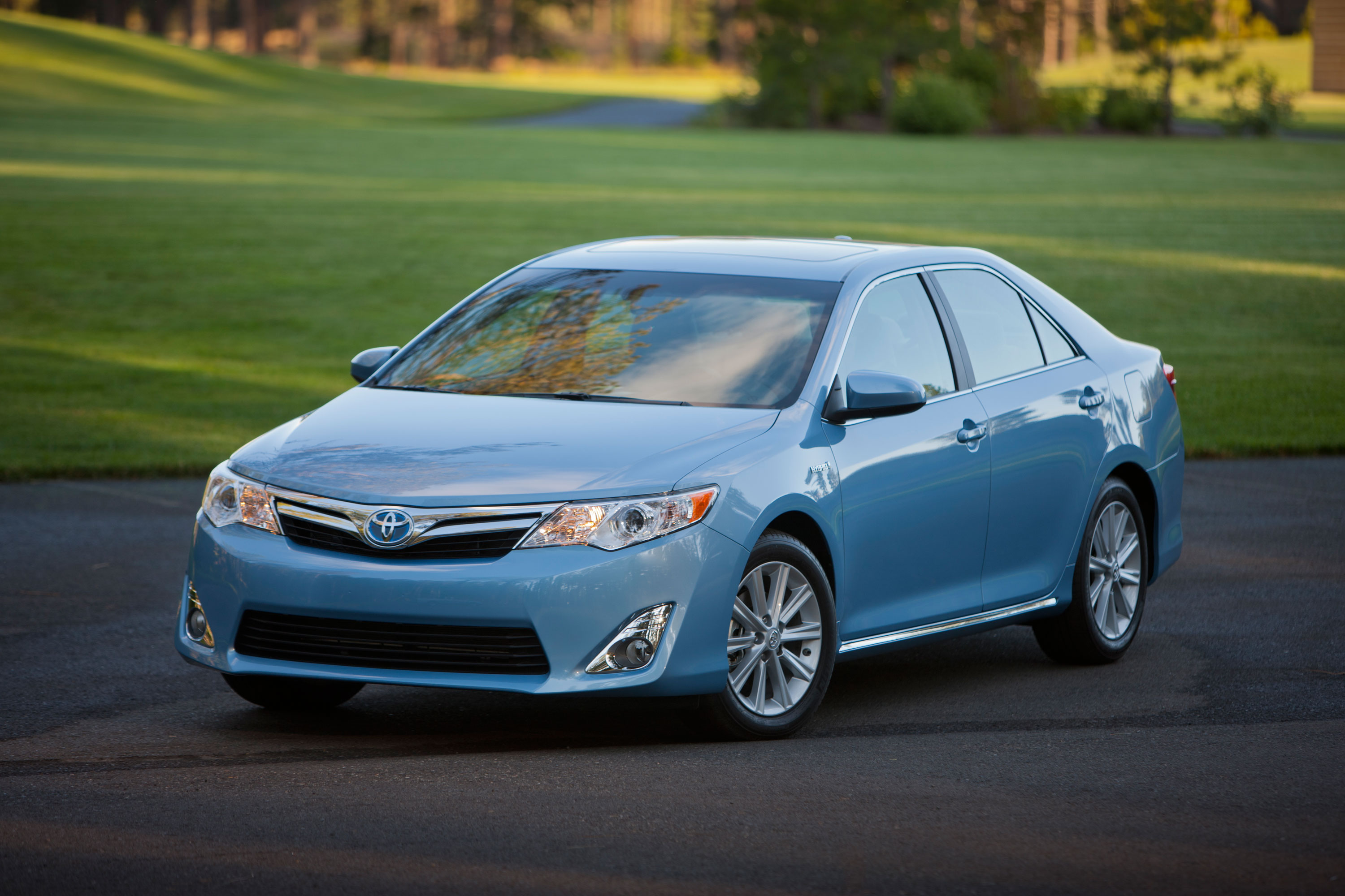 Newly Redesigned 2012 Toyota Camry Hybrid XLE is Named NADAguides ...
