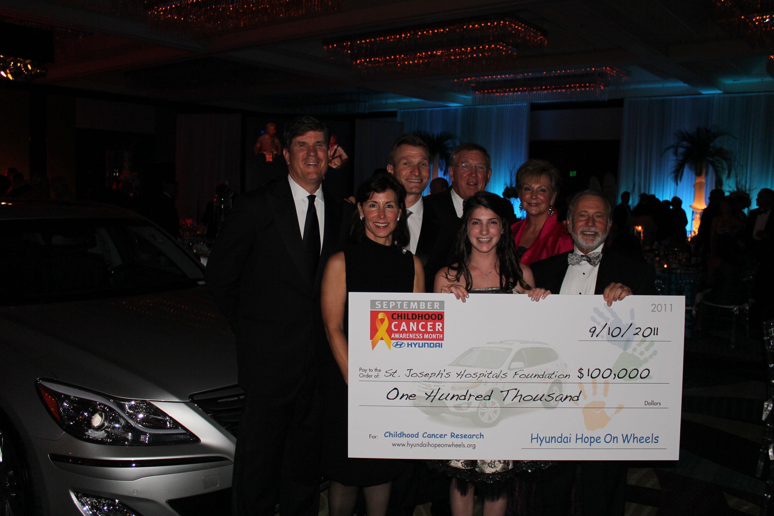 St  Joseph's Hospital Awarded $100,000 Grant From Hyundai