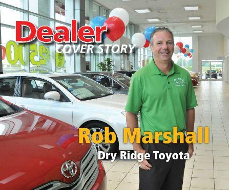 Rob Marshall, Dry Ridge Toyota - Digital Dealer