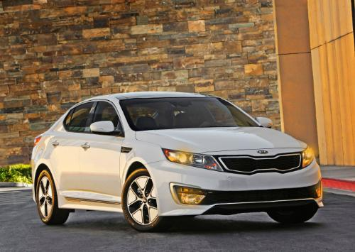 Kia Optima Hybrid Named To Top 10 Cars Of The Year List By
