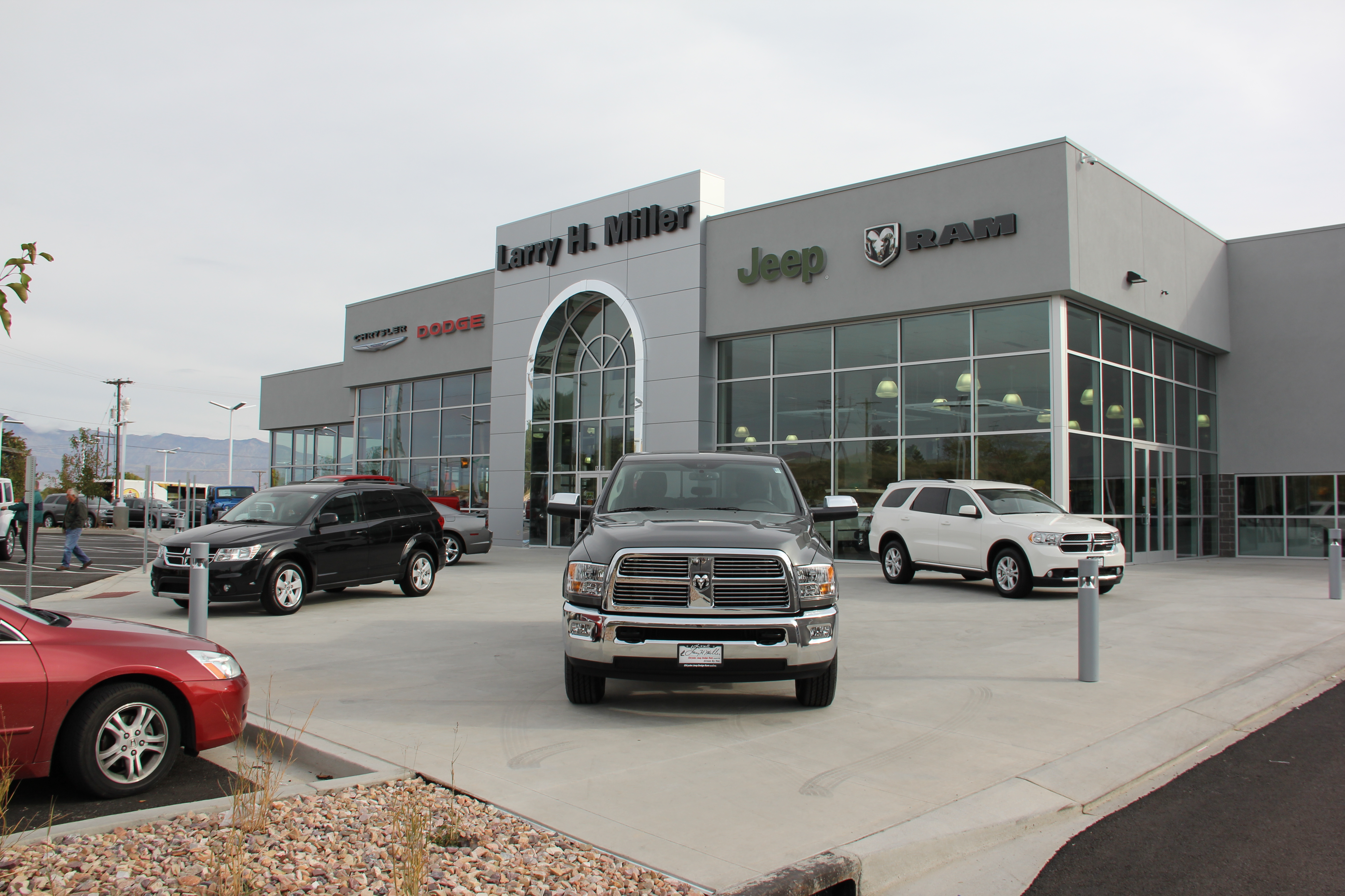 larry h miller chrysler jeep dodge ram riverdale opens