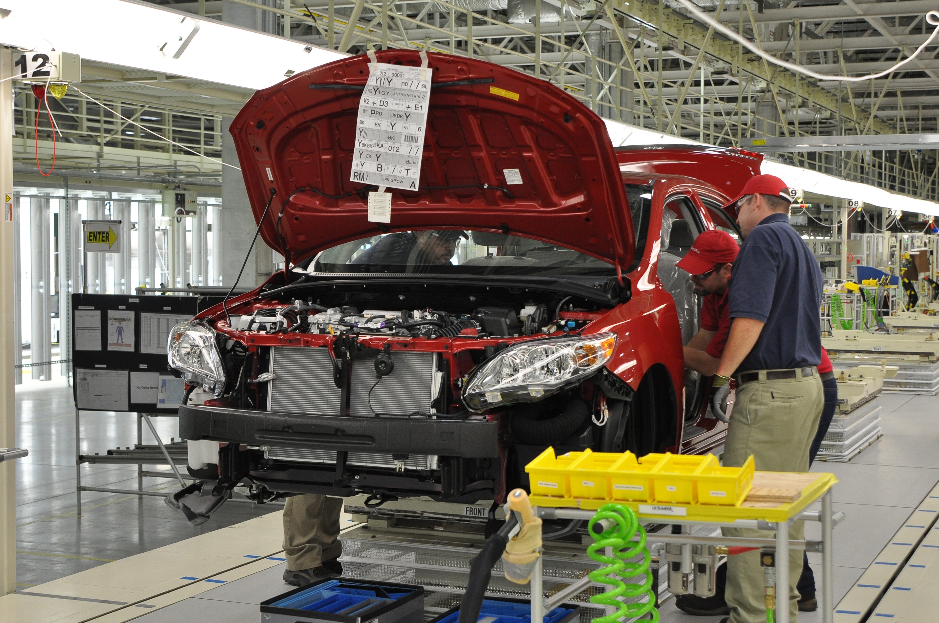 Toyota Begins Corolla Production In Mississippi Digital