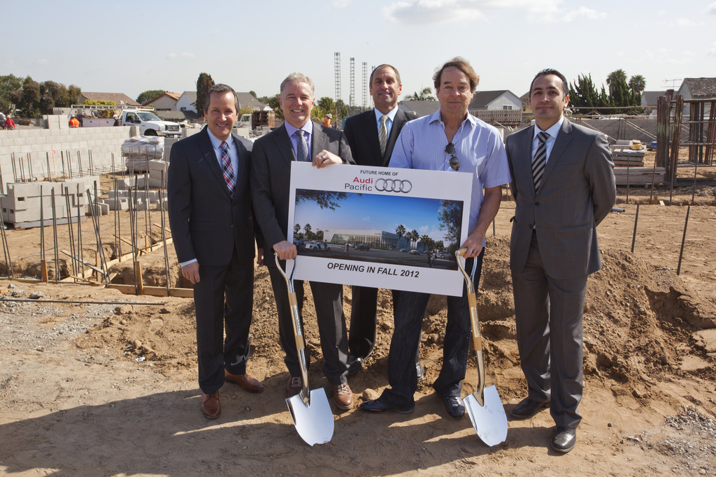 Progressive LAcarGUY Breaks Ground For Expanded LEEDCertified - Pacific audi