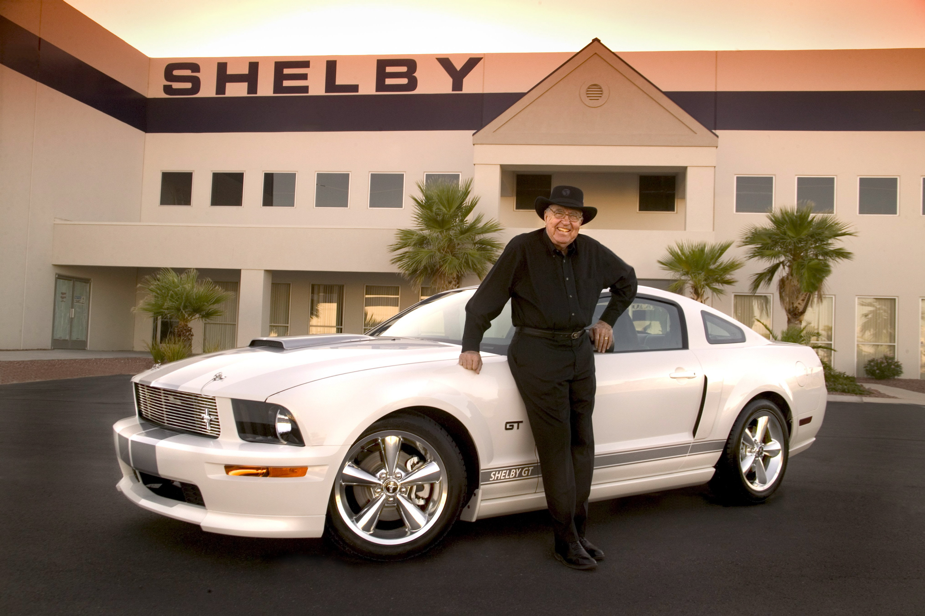 Carroll shelby mustang