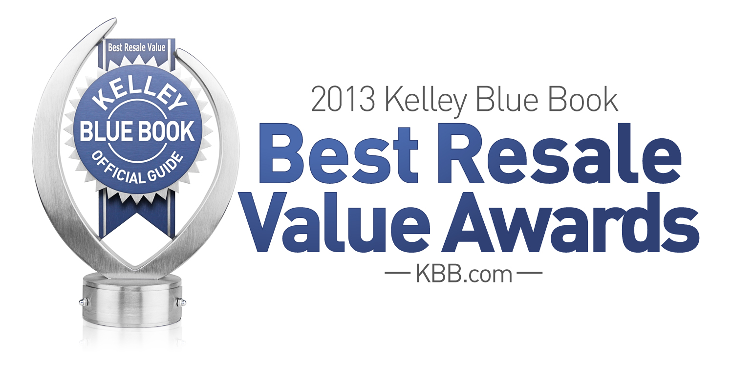 2013 Best Resale Value Award Winners Announced By Kelley Blue Book ...