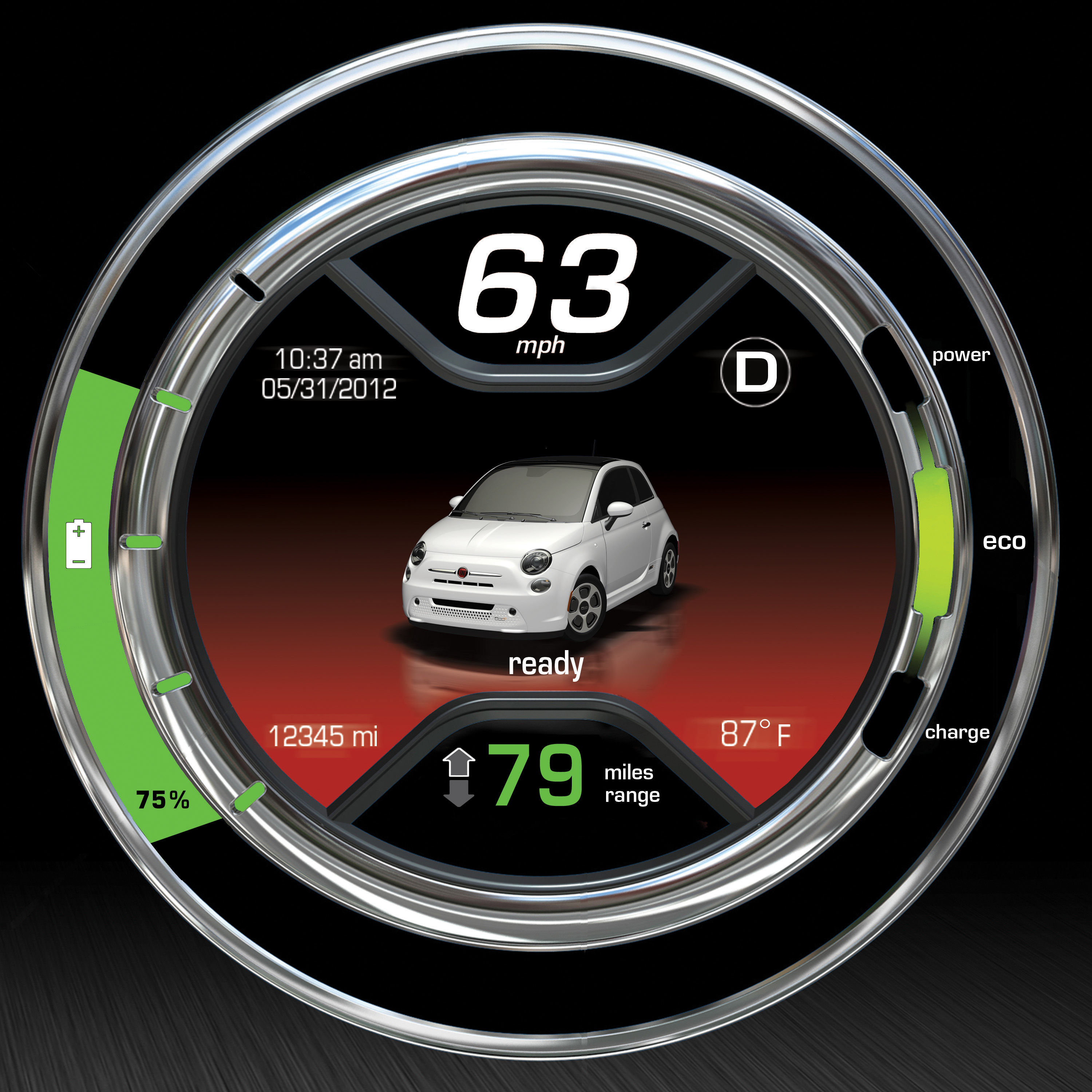 All New 2017 Fiat 500e Recharges The Electric Vehicle Ev Segment With Italian Style And Performance