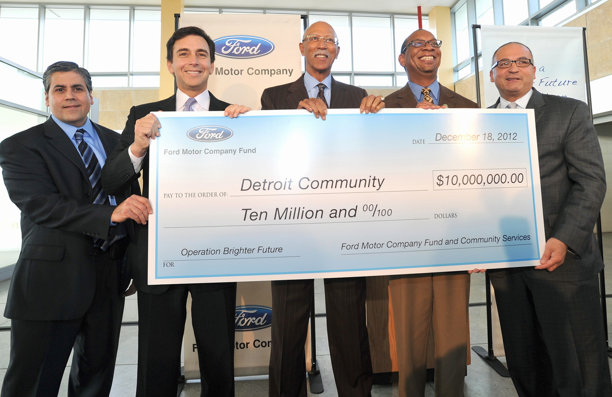 Ford motor company launches new program to support detroit for Ford motor company news