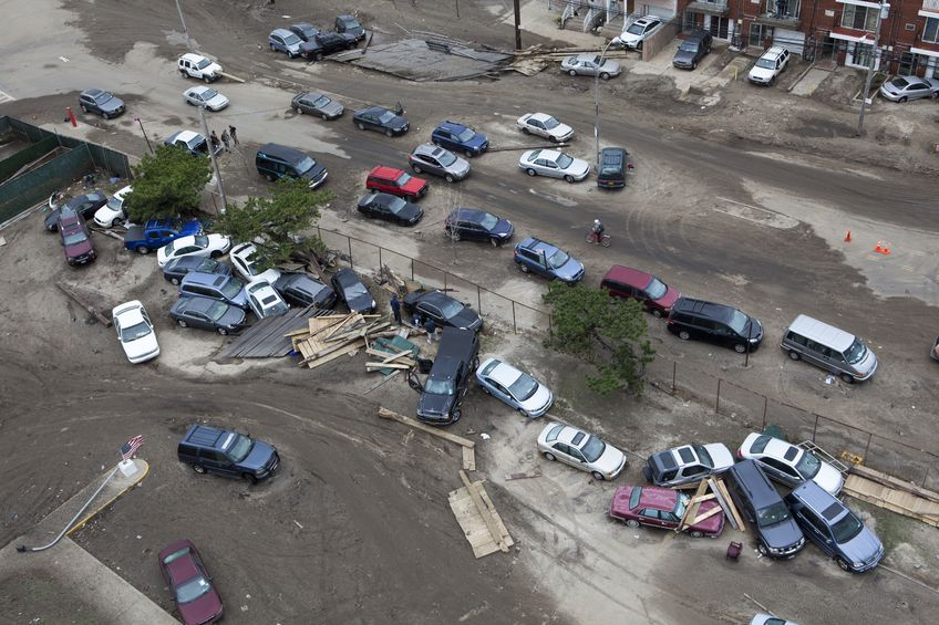 Thousands Of Cars Damaged By Sandy To Be Crushed Digital