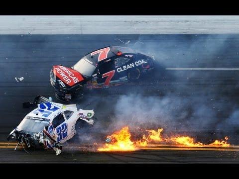 Indy Crash, Nascar, Kyle Larson