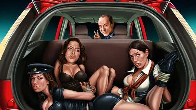 Burlesconi Ad Ford Figo Outrage