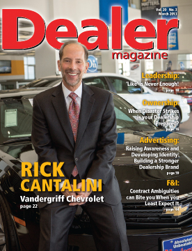 Interview with Rick Cantalini, GM & Partner, Vandergriff Chevrolet