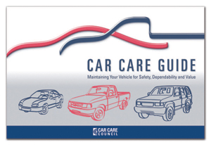 Car Care Awareness Month, Car care Council
