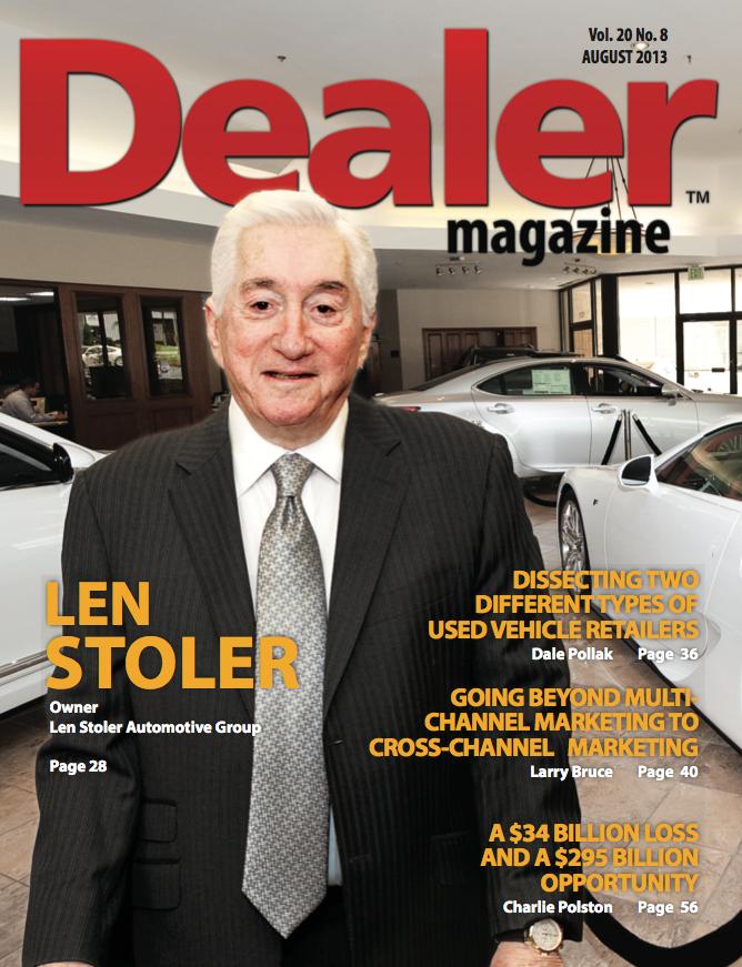 Interview With Len Stoler Owner Of The Len Stoler Automotive Group - Len stoler audi