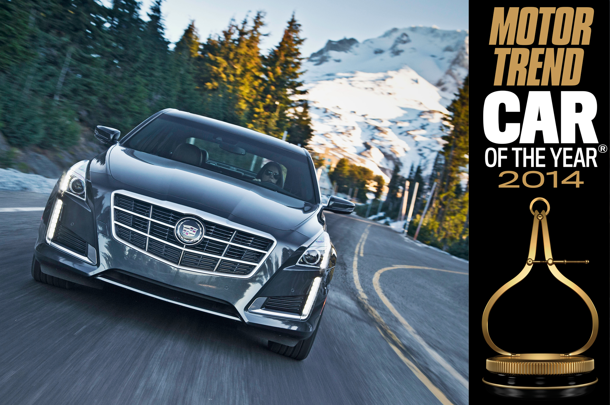 2014 motor trend car of the year cadillac cts digital for Motor trend on demand promo code