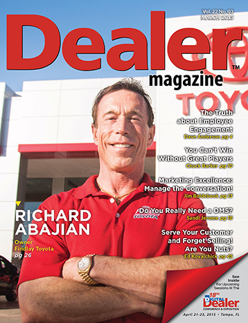 An Exclusive Interview With Richard Abajian Of Findlay Toyota