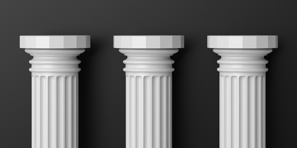 Image result for three pillars