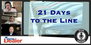 Digital Dealer – Blog Header Image – 21 Days to the Line