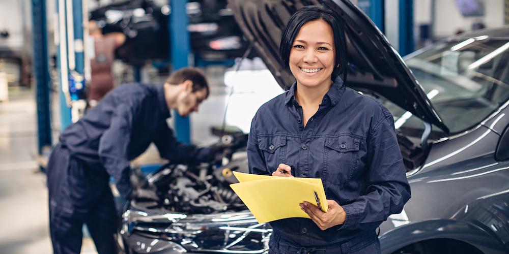 car dealership service